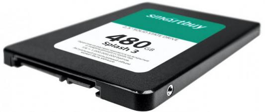 Smartbuy SSD 480Gb Splash 3 SB480GB-SPLH3-25SAT3 {SATA3.0, 7mm}