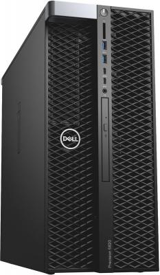 Рабочая станция DELL Precision T5820 MT Xeon W-2123 16 Гб 2Тб Windows 10 Pro (5820-2691) рабочая станция dell precision t5820 intel xeon w 2123 ddr4 16гб 2тб dvd rw windows 10 professional черный [5820 2691]