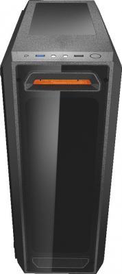Корпус ATX Cougar MX350 Без БП чёрный корпус atx corsair carbide series clear 600c inverse black window без бп чёрный cc 9011079 ww