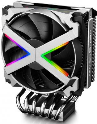 Кулер DEEPCOOL FRYZEN TR4/AM4/AM3+/AM3/AM2+/AM2/FM2+/FM2/FM1 (4шт/кор, TDP 250W, PWM, RGB Lighting, 6 Heatpipe, Copper Base) RET cpu radiator fan base holder computer desktop mainboard bracket base mount for 940 am2 am2 c77 dropship