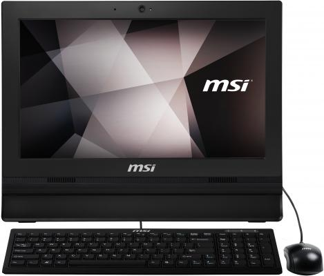 "купить Моноблок 15.6"" MSI Pro 16T 7M-045RU 1366 x 768 Touch screen Intel Celeron-3865U 4Gb 500 Gb Intel HD Graphics 610 Windows 10 Home черный 9S6-A61611-045 (9S6-A61611-045) по цене 33525 рублей"