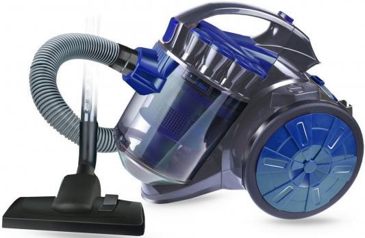 Пылесос GINZZU VS419 сухая уборка серый синий