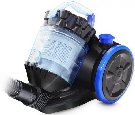 GiNZZU VS424 черн/синий пылесос без мешка пылесос без мешка bosch bch 6zooo