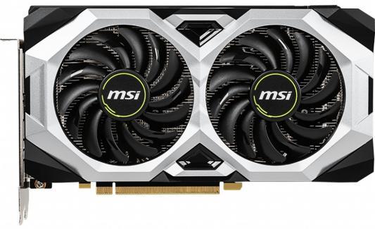 Видеокарта MSI PCI-E RTX 2070 VENTUS 8G nVidia GeForce RTX 2070 8192Mb 256bit GDDR6 1410/14000/HDMIx1/DPx3/HDCP Ret видеокарта msi geforce rtx 2080 duke 8g oc 8gb 1845 mhz nvidia rtx 2080 gddr6 14000mhz 256bit pci e usb type c hdmi dpx3