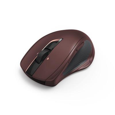 Мышь Hama MW-800 бордовый лазерная (2400dpi) беспроводная USB для ноутбука (7but) указка лазерная hama lp15 00003531 металл красный