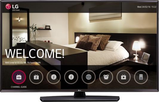 Телевизор 43 LG 43LV541H черный 1920x1080 50 Гц USB HDMI RJ-45 телевизор 32 lg 32lj500v черный 1920x1080 50 гц usb