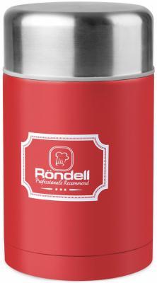 945-RDS Термос для еды 0,8 л с внутр.контейнером 0,35 л Picnic Red Rondell (R) puky r 03 l red