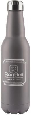 841-RDS Термос 0,75 л Bottle Grey Rondell термос rondell bottle grey 750 мл