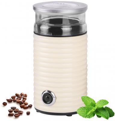 5482-2-CR Кофемолка FIRST Мощность: 160 Вт.Емкость: 65 гр.Импульсный режим. кофемолка first fa 5482 2 cream