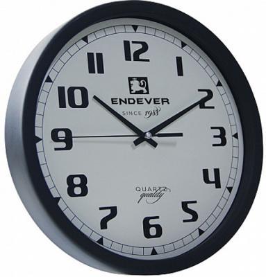 111-RealTime Часы настенные, черно-белый, кварцевый механизм,батарейка 1хАА.
