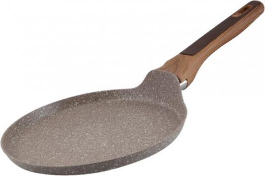 7950-BK Сковорода BEKKER 26см блинная с мраморным покр. Состав: кованый алюминий. сковорода блинная regent inox сковорода блинная