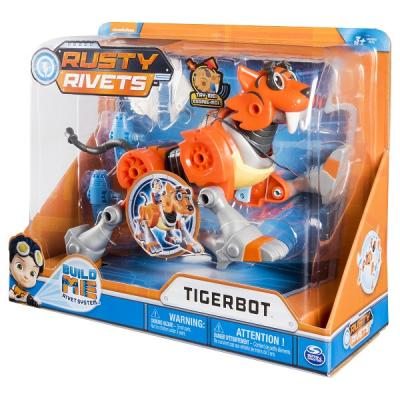 Игрушка Rusty Rivets Тигрбот rusty rivets model 1шт