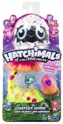 Игровой набор Hatchimals домик-гнездо со светом сад аксессуары к серийным игрушкам hatchimals детский сад для птенцов