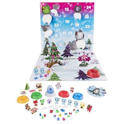 Игровой набор Hatchimals Новогодний календарь желаний 24 предмета