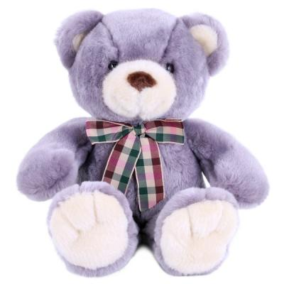 цена на Мягкая игрушка медведь SOFTOY медведь лавандовый искусственный мех наполнитель пластмасса лавандовый 32 см