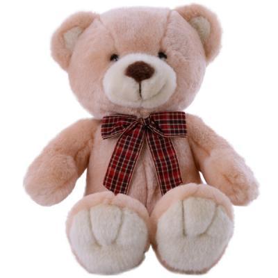 цена на Мягкая игрушка медведь SOFTOY медведь персиковый искусственный мех наполнитель персиковый 32 см