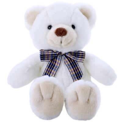 цена на Мягкая игрушка медведь SOFTOY Медведь белоснежный искусственный мех наполнитель белый 32 см