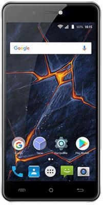 Смартфон BQ BQ-5507L Iron Max 16 Гб черный смартфон bq aquaris u2 16 гб черный c000291