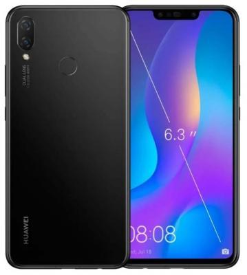 Смартфон Huawei Nova 3i 64 Гб черный цена