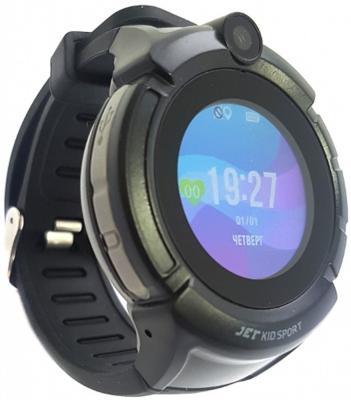 лучшая цена Jet Kid Sport black Умные детские часы
