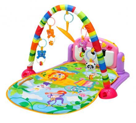 Развивающий коврик Everflo Оркестр (розовый) развивающий коврик everflo baby hs0368143 8143 green