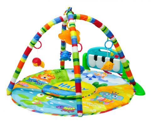 Развивающий коврик Everflo Magic Story (HS0368141/8141-green) развивающий коврик everflo baby hs0368143 8143 green
