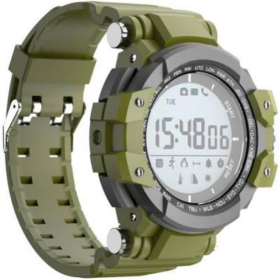 Jet Sport SW3 green Умные спортивные часы умные часы carcam v06 green