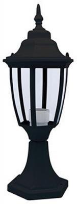 Светильник уличный HOROZ ELECTRIC HL276BL черный 60Вт Е27 43мм 14.5мм светильник уличный настенный витраж tv 602dn 1х е27 60вт ip43 черный