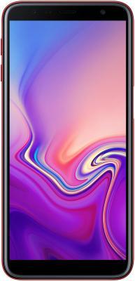 Samsung Galaxy J6+ (2018) SM-J610FZRNSER красный Смартфон смартфон samsung galaxy j6 2018 32gb red красный