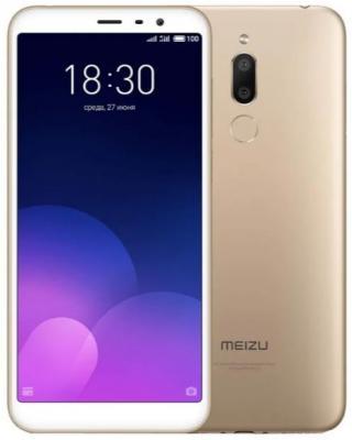 Смартфон Meizu M6T 32 Гб золотистый цена и фото