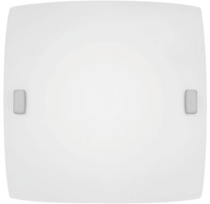 Картинка для Светильник настенно-потолочный EGLO BORGO 83241  1X60W E27 сталь сатиновое стекло белый