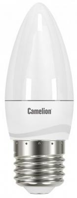 Лампа светодиодная свеча Camelion LED6.5-C35/845/E27 E27 6.5W 4500K 11907 лампа светодиодная camelion led3 g45 830 е14