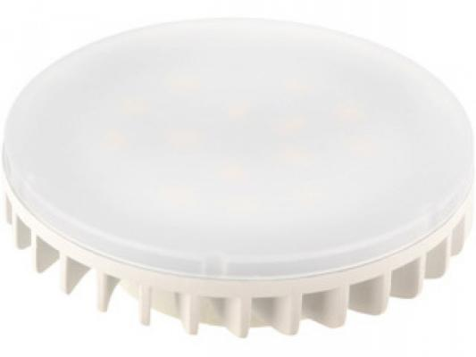Лампа светодиодная дисковая Camelion LED7.5-GX53/845/GX53 GX53 7.5W 4500K 11559 лампа светодиодная camelion led8 gx53 845 gx53