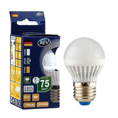 купить Лампа светодиодная REV RITTER 32409 6 g45 е27 9w 4000k холодный свет по цене 90 рублей