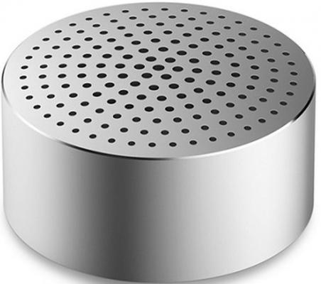 Xiaomi Mi Bluetooth Speaker Mini Портативная акустика, серебристый портативная акустика xiaomi mi bluetooth speaker basic 2 white fxr4066gl