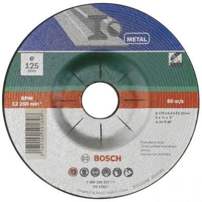 Bosch 2609256337 ОБДИРОЧНЫЙ КРУГ МЕТАЛЛ 125Х6 ММ DIY