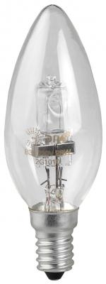 Лампа галогенная свеча Эра Hal-B35-28W-230V-E14-CL E14 28W 3000K недорого