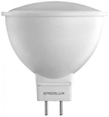 Лампа светодиодная рефлекторная Ergolux LED-JCDR-7W-GU5.3-3K GU5.3 7W 3000K ergolux elx hd02 c64 фен