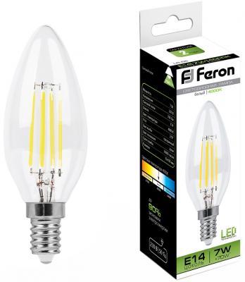 все цены на Лампа светодиодная FERON 25780 (7W) 230V E14 4000K, LB-66 онлайн