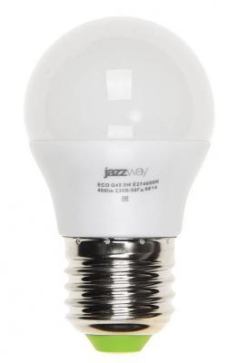 Купить Лампа светодиодная JAZZWAY PLED-ECO-G45 5Вт e27 4000k 400лм