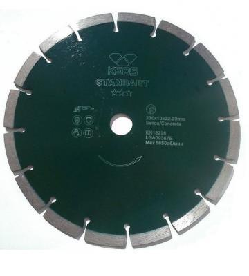 Круг алмазный KEOS DBS02.400 сегментный Standart 400х25.4/20.0мм по бетону круг алмазный keos dbs02 450