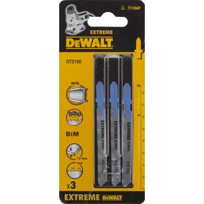 Пилки для лобзика DeWALT DT2150-QZ по металлу BIM EXTREME T 118 AF, 3шт. стоимость