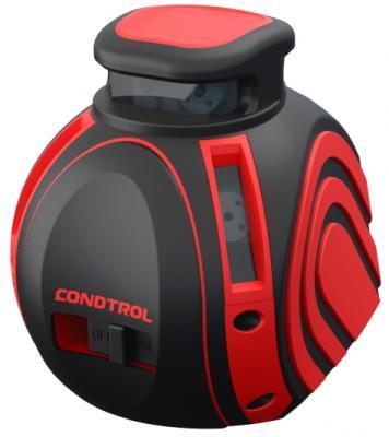 Уровень CONDTROL Unix360Pro  нивелир лазерный ±0.2 40-80м 4x635нм 3x1.5В IP54 1/4 109x109x91мм