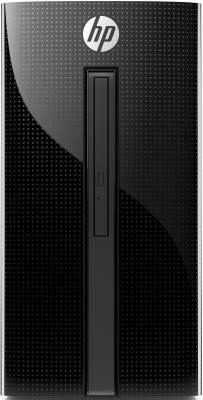 Компьютер HP 460-a211ur Intel Pentium J3710 8 Гб 1 Тб Intel HD Graphics 405 DOS (4XL80EA) неттоп lenovo thinkcentre m600 tiny intel pentium j3710 4gb 500gb intel hd graphics 405 без ос черный 10g9001lru