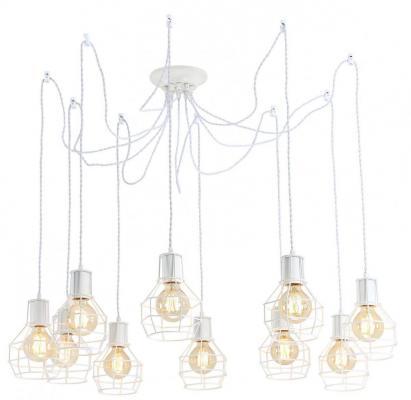 Подвесная люстра Arte Lamp A9182SP-10WH crystal lamp d1489 10wh
