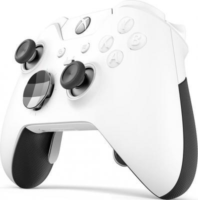 купить Геймпад Беспроводной Microsoft Elite WHITE белый для: Xbox One (HM3-00012) по цене 11010 рублей