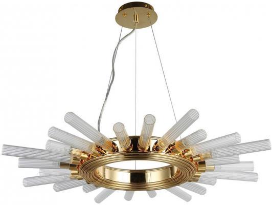 Подвесная люстра Crystal Lux Fair SP12 Gold D800 подвесная люстра crystal lux deseo sp12 l1000 gold