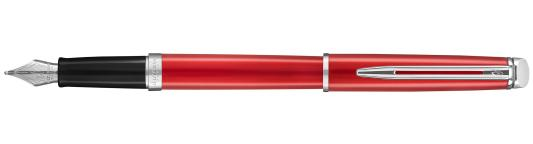 Перьевая ручка Waterman Hemisphere Red Comet CT F 2043212 ручка шариковая waterman hemisphere s0920670 mars