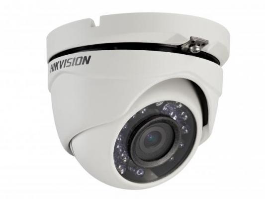 "Камера Hikvision DS-2CE56C0T-MPK CMOS 1/4"" 2.8 мм 1280 x 720 HD-TVI белый"