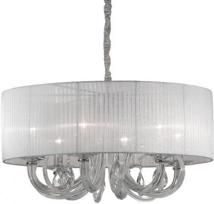 Купить Подвесная люстра Ideal Lux Swan SP6 Bianco